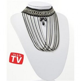 ras-neck-chains-necklace-multi-row-black-silver-collection-chic-71271